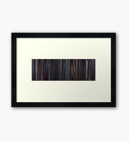 Moviebarcode: Brazil (1985) Framed Print