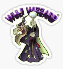 Wulf Wizzard Bad Wizzard Sticker