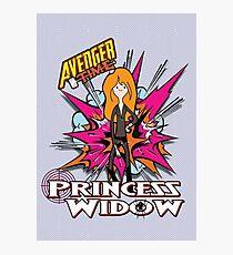 Avenger Time - Princess Widow Photographic Print