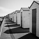 Beach Huts and Shadows - Southworld by Suffolk Photography