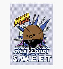 Avenger Time - Nick Candy Agent of S.W.E.E.T Photographic Print