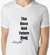 The Once and Future Clotpole Men's V-Neck T-Shirt