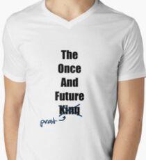 The Once and Future Prat Men's V-Neck T-Shirt