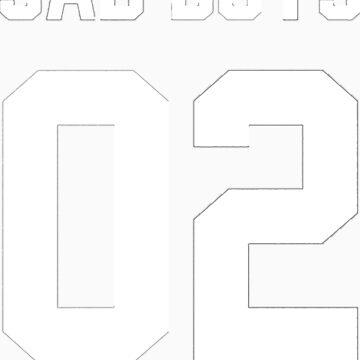 Yung Lean Sad Boys 02 - (white text) by Leyendecker