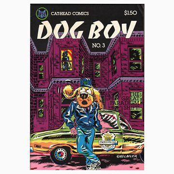 Dog Boy T Shirt by blandook