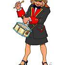 Brass Band - Little Drum Player by Jan Szymczuk