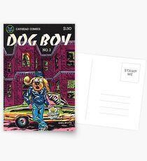 Classic Dog Boy Cover Postcards