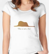 This is not a Hat Women's Fitted Scoop T-Shirt