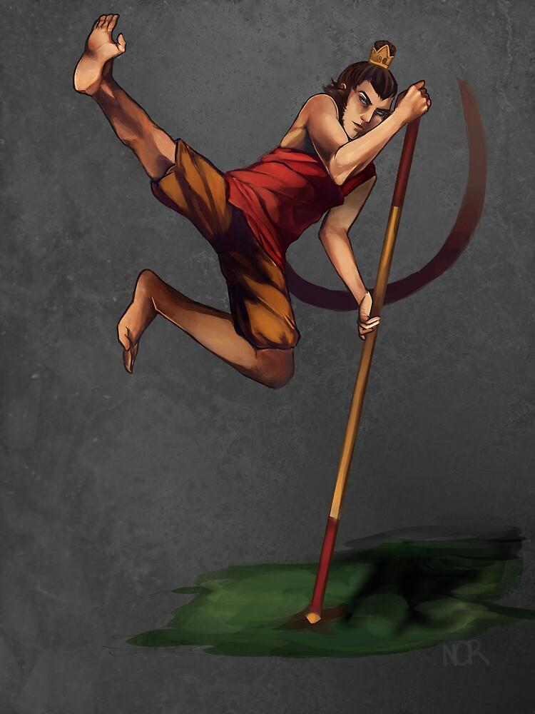 Sun Wukong by Nicole Cruz-Ramos