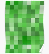 Creeper Pattern Poster