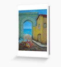 Pietrasanta In Tuscany Greeting Card