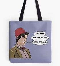 Cool Fez Tote Bag