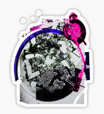 Turntable Ashtray (Miami Remix) Sticker