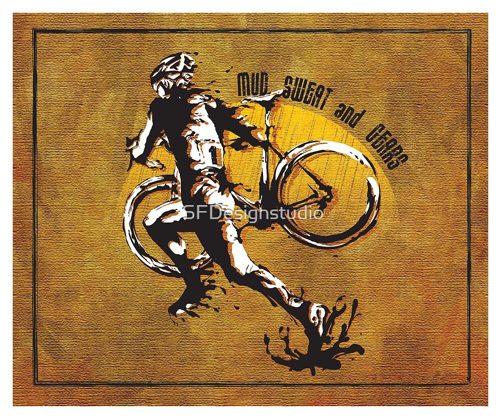«Mud Sweat & Gears Cyclocross» de SFDesignstudio