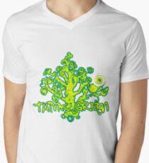 Think_Green Mens V-Neck T-Shirt