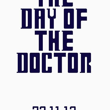 THE DAY OF THE DOCTOR by ahahanna