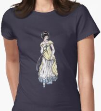Lady Cecilia Fifield - Regency Fashion Illustration Womens Fitted T-Shirt
