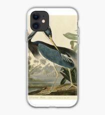John James Audubon (Jean-Jacques Audubon)  LOUISIANA HERON iPhone Case