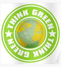 Think_Green Poster