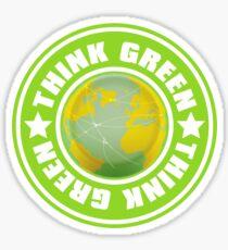 Think_Green Sticker