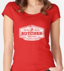 The Bay Harbor Butcher (worn look) Women's Fitted Scoop T-Shirt