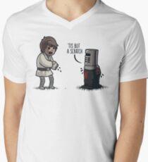 'Tis But a Scratch Men's V-Neck T-Shirt