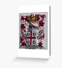 Coat of Arms, Portland Bill, Dorset Greeting Card