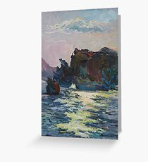 Over Sea, Under Stone Greeting Card