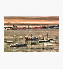 Harbor Morning Photographic Print