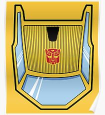 Transformers - Sunstreaker Poster