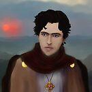 Saint Aidan by Rowan  Lewgalon