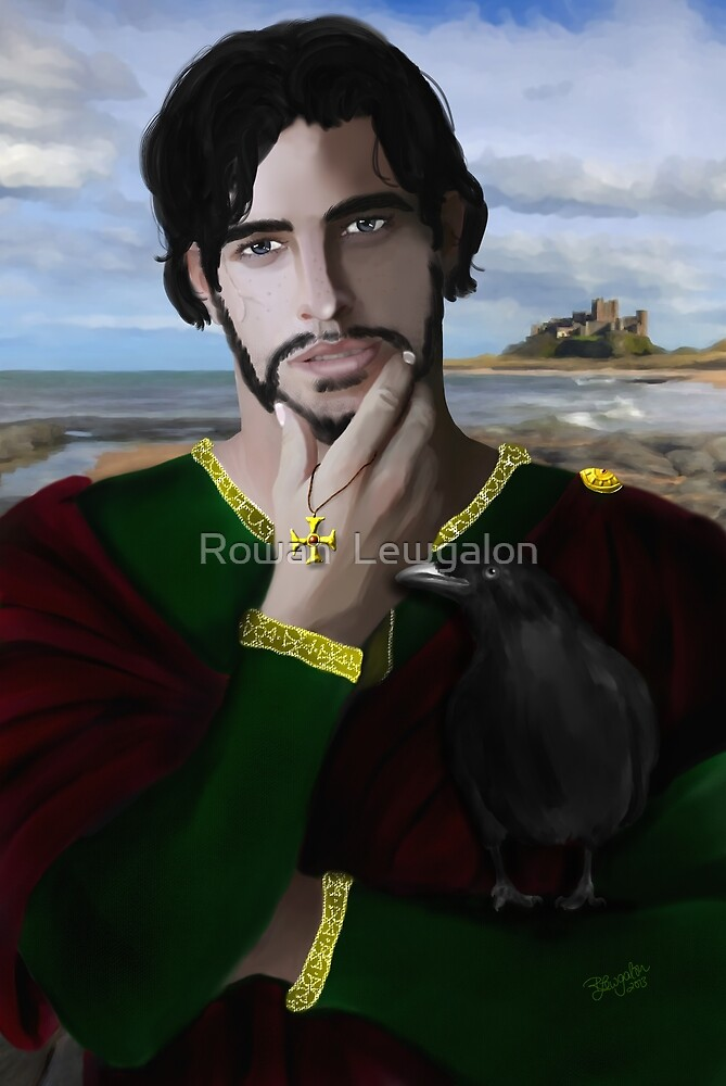 Saint Oswald of Northumbria by Rowan  Lewgalon