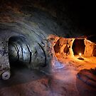 Aladdin's lamp in Mazikoy underground city by Hercules Milas