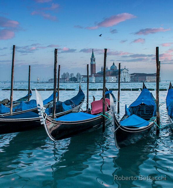 Gondola parking lot II by Roberto Bettacchi