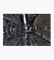Alleyway, Bendigo Photographic Print