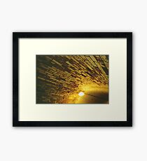 The Tunnel! Framed Print