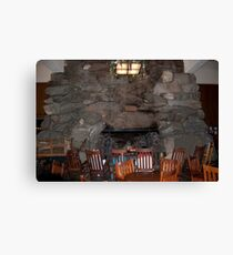 The Fireplace  Canvas Print