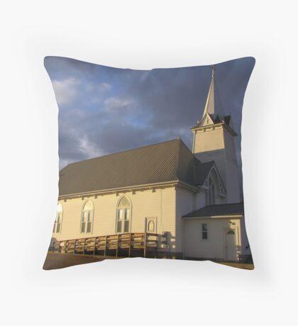 St. Columba Throw Pillow