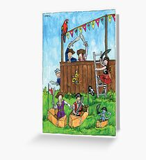 KMAY Hoodkid Pirates Play Greeting Card