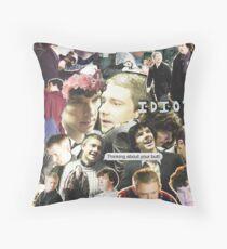 sherlock & john Throw Pillow