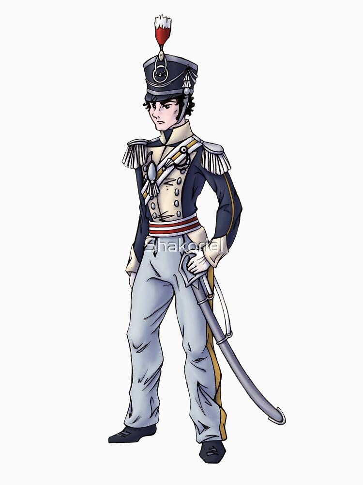Captain Benjamin Shedfield - Regency Fashion Illustration by Shakoriel