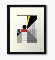 BLACK POINT Framed Print