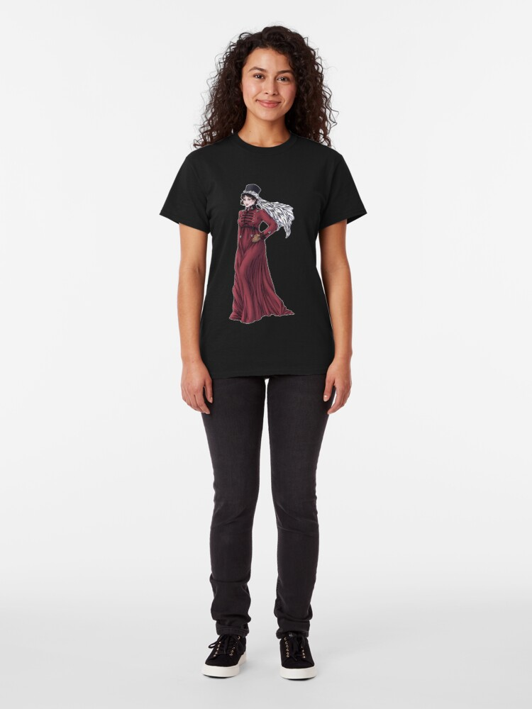 Alternate view of Miss Valeria Fulbourn - Regency Fashion Illustration Classic T-Shirt