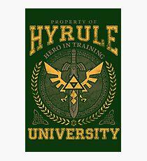 Hyrule University Photographic Print