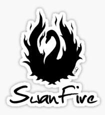 OUAT - SwanFire Sticker
