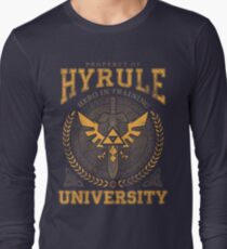 Hyrule Universität Langarmshirt