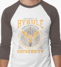 Hyrule Universität Baseballshirt mit 3/4-Arm