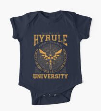 Hyrule Universität Baby Body Kurzarm