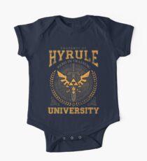 Hyrule Universität Baby Body Kurzarm