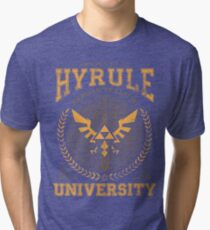 Hyrule University Tri-blend T-Shirt